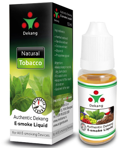 Aroma za E-cigaretu DEKANG Natural Tobacco  LIGHT