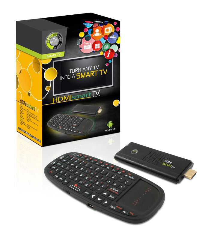 Android 4.1 HDMI Smart TV Dongle Sa Tastaturom i TrackPad-om