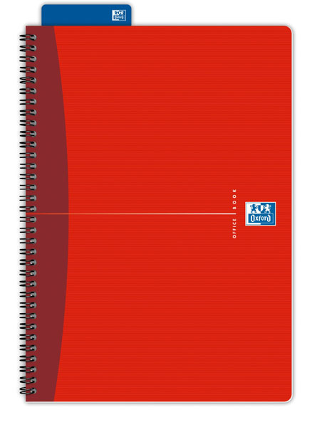 Sveska Oxford Office Essentials A4 linije 06XO142 Red