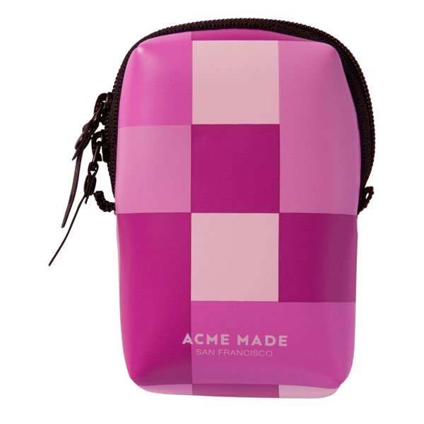 Acme Made Futrola Smart Little Pouch Pink Gingham 12955