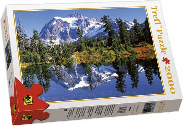 Reflection In The Lake - Puzzle - 2000P/27008