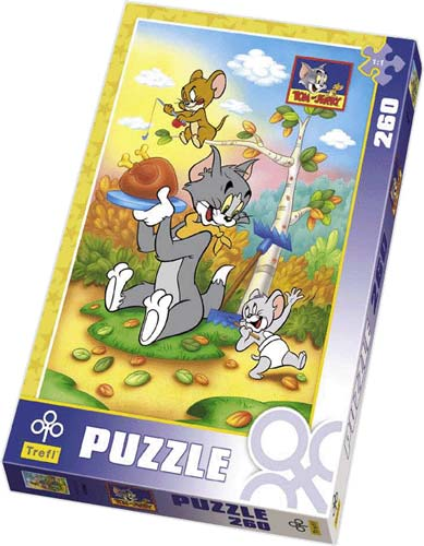 Tom & Jerry - Picnic - Disney Puzzle - 260P/13065