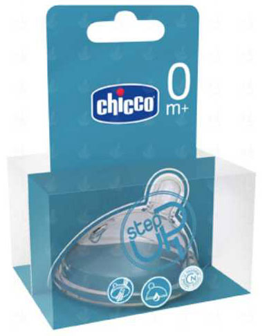 Chicco silikonska cucla StepUp normal  0m+  600730