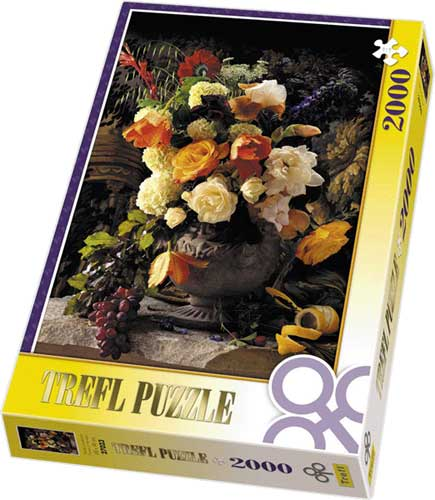 Flowers in The Vase - Puzzle - 2000P/27023