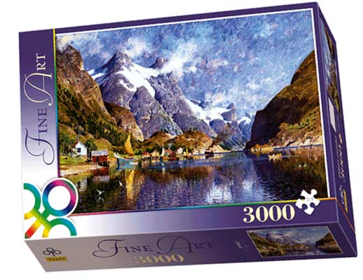 A Norvegian Fiord - Adelsteen Normann - Puzzle - 3000P/33010