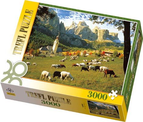 South Tyrol, The Dolomites - Puzzle - 3000P/33014
