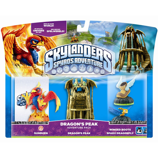 Skylanders Dragons Peak Adventure Pack 84310EF