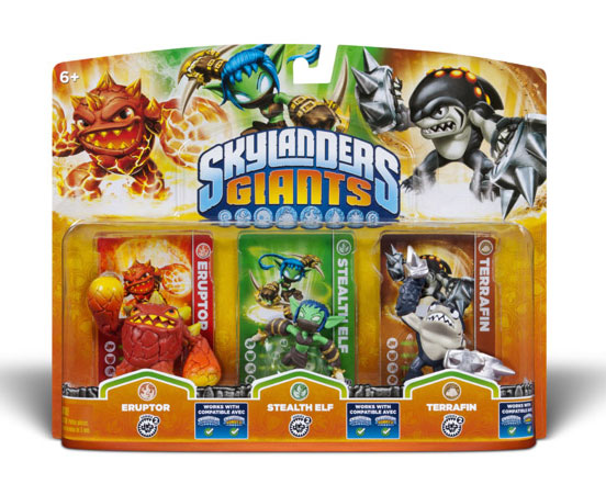 Skylanders GIANTS Triple Pack F 84567EU