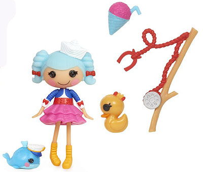 Mini Lalaloopsy FunHouse Lutka Marina Anchors 514206