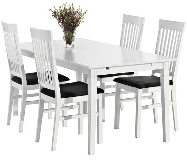 Trpezarijska garnitura Andrej sto + 4 stolice: Trpezarijske Garniture: SveZaK...