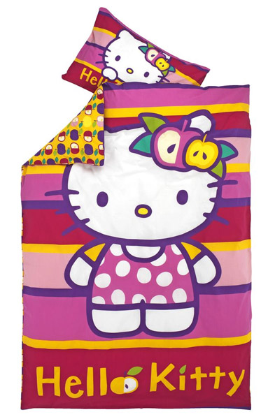 Dečija posteljina Hello Kitty Apple 140x200