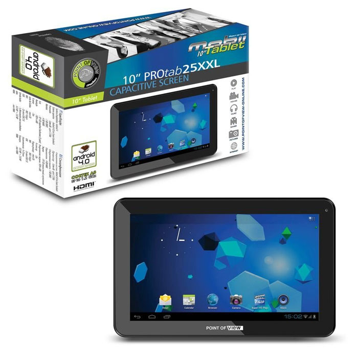 PC Tablet Point Of View PROTAB25XXL - 10 inča 4Gb 8718182466843