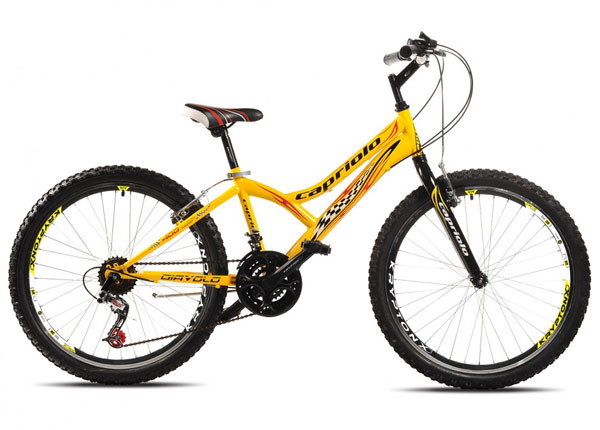 Mountain Bike MTB DIAVOLO 400/18HT crno-žuto 905301-13
