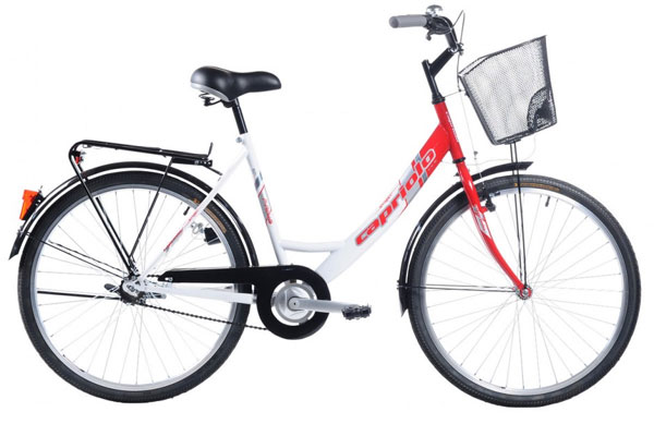 Bicikl CTB City Bike PARIS LADY 26HT crvena-bela 905231-19
