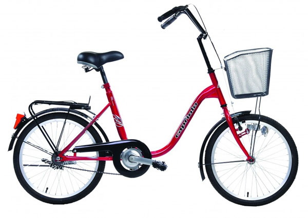 Bicikl CTB City Bike PONY 20HT bordo 905212-16