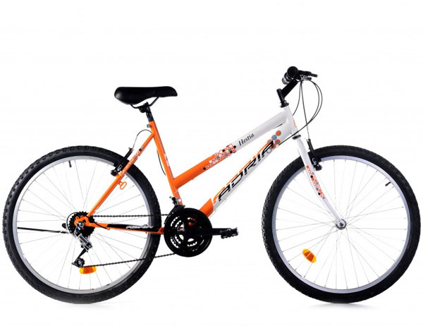 Mountain Bike MTB Hestia 26/18HT belo-oranž 905206-19