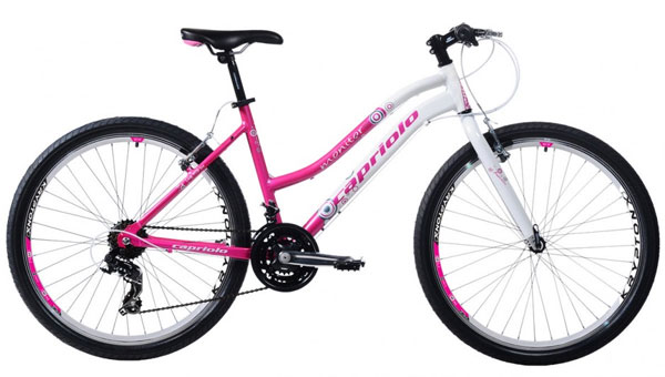 Mountain Bike MTB Monitor Lady 26/21 Al bela-pink 905572-17