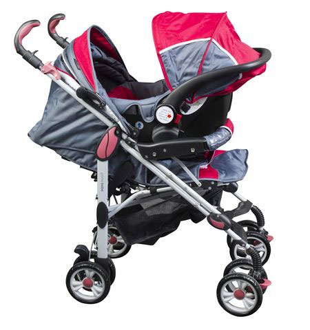 Primebebe Duo Kolica Smart Red