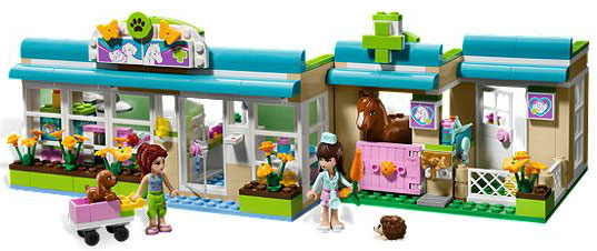 LEGO Friends Hartlejk Veterinarska ambulanta LE3188