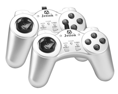 Dva PC d�ojstika Jetion Gamepad JT-U5550 PC duo JET003
