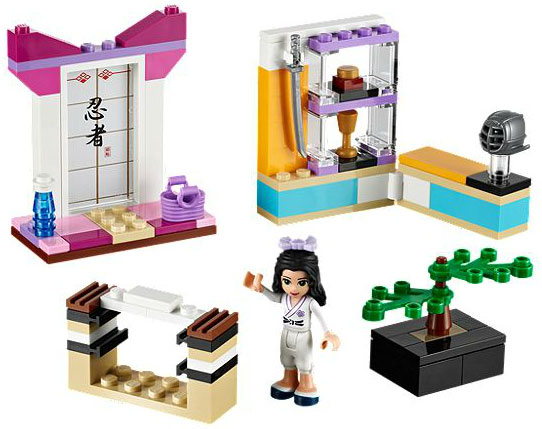 LEGO Friends Ema - Karate trening LE41002