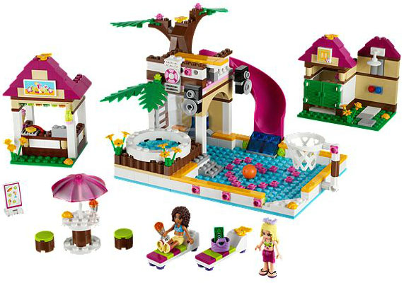 LEGO Friends Bazen Hartlejk LE41008