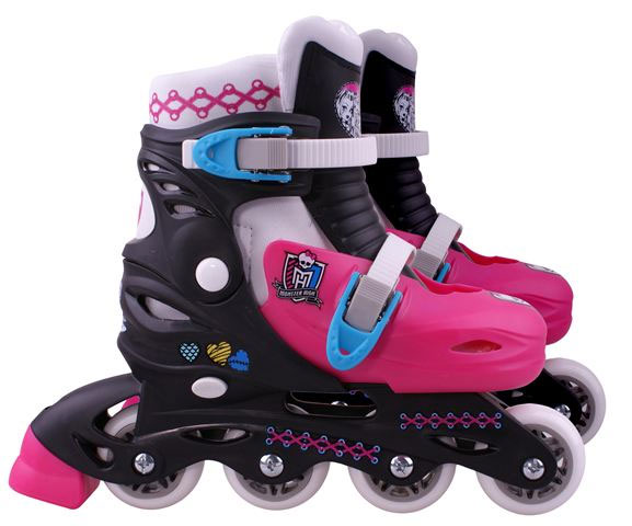 Stamp Inline Podesivi Roleri Monster High veličina 34-37 MO130303