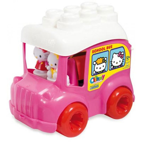Clementoni Soft Blocks - Mekane Kocke Clemmy Hello Kitty Autobus 17332