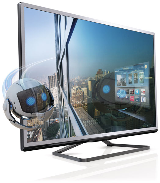 Philips 4000 series 3D Smart LED televizor sa tehnologijom Pixel Plus HD 32PFL4508H/12