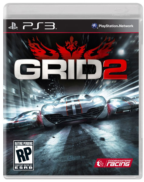 Codemasters Grid 2 Play Station 3 Igra