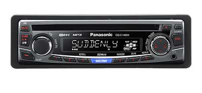 Panasonic CQ-C1465N - auto CD-MP3 player sa FM prijemnikom