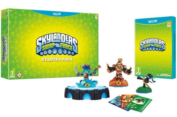 WiiU Skylanders SWAP Force Starter Pack 84716EG 018241