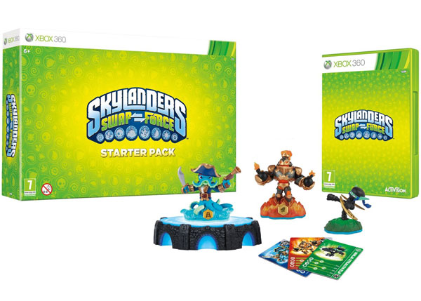 XBOX360 Skylanders SWAP Force Starter Pack 84704EG