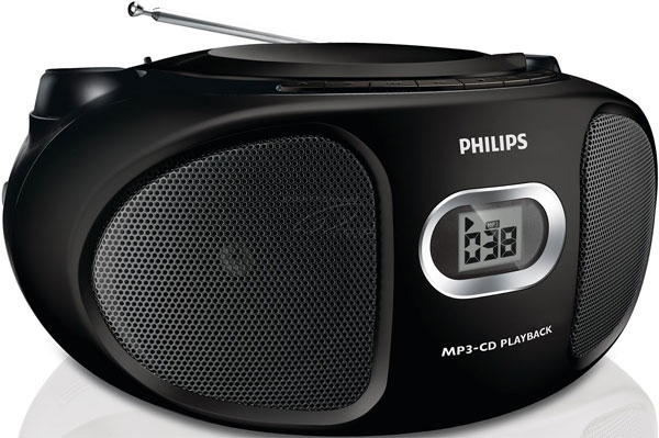 Philips prenosni radio CD plejer AZ305/12
