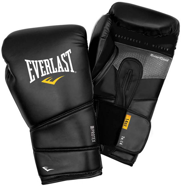 Everlast boks rukavice Protex Training Gloves crne 3110-S/M