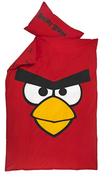 Posteljina Angry Birds Classic