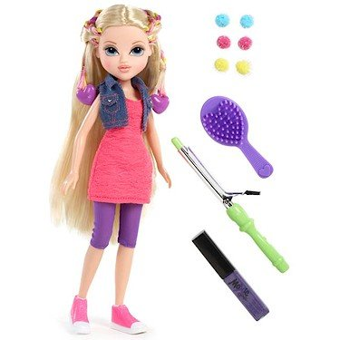 Moxie Girlz Lutka Magic hair bendy braids Avery 111719