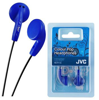 In-ear slušalice JVC HA-F11 plave