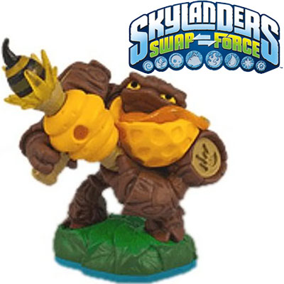 Skylanders Swap Force Lightcore Bumble Blast figura