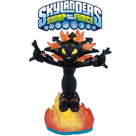 Skylanders Swap Force Lightcore Smolderdash figura 84829EU