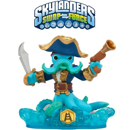 Skylanders Swap Force Shapeshifter Wash Buckler figura