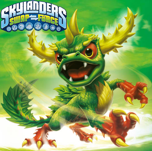 Skylanders Swap Force Camo figura