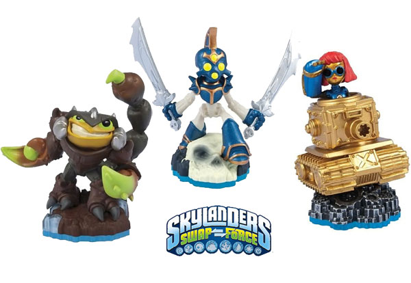 Skylanders Swap Force Tripple Pack D, Scorp, Chop Chop i Sprocket 84761EU