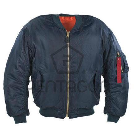 Jakna Pentagon S.A. MA1 Flight Jacket Κ03002 plava XL