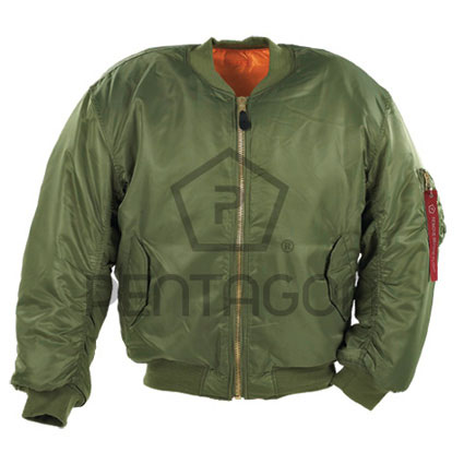 Jakna Pentagon S.A. MA1 Flight Jacket Κ03002 zelena L