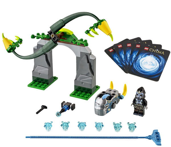 Kocke LEGO Chima Whirling Vines V29 LE70109