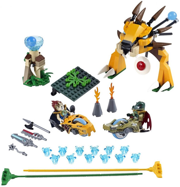 Kocke LEGO Chima Ultimate Speedor Tournament V29 LE70115