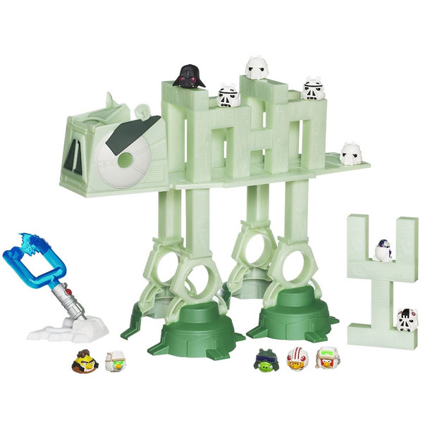 Hasbro društvena igra Angry Birds Star Wars AT-AT Attack Battle Game A2373