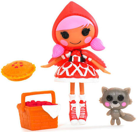 Mini Lalaloopsy Lutka Scarlet Riding Hood 513940