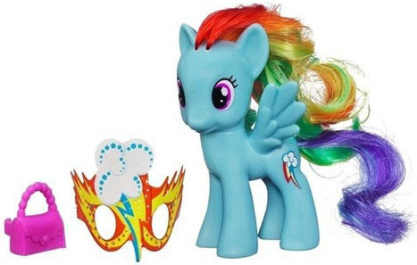 Hasbro My Little Pony Maskenbal figurica Rainbow Dash A2360 A4076